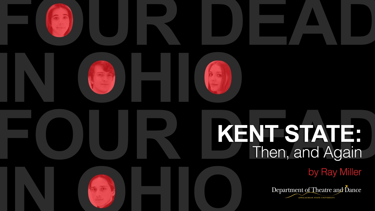 Kent State Then and Again poster